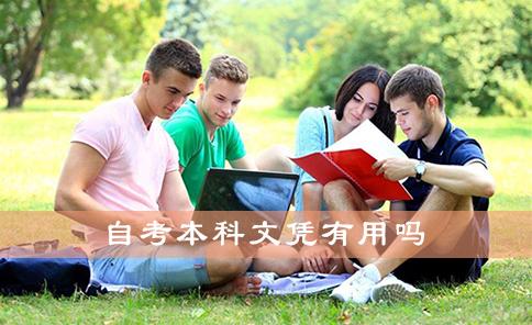 自考本科文凭有用吗