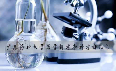 广东药科大学药学自考本科考哪几门