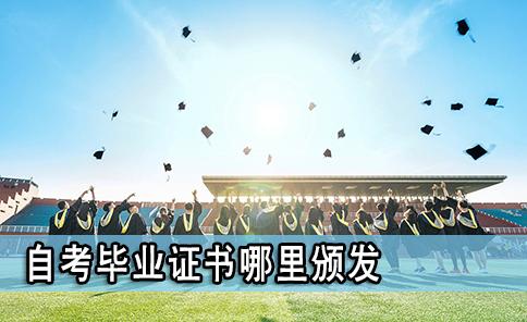 自考毕业证书哪里颁发