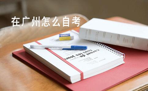 在广州怎么自考